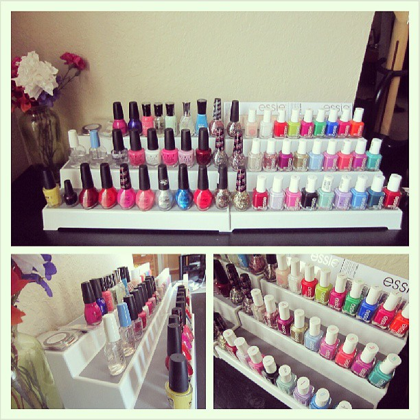 Image Result For Diy Stand For Nail Polish